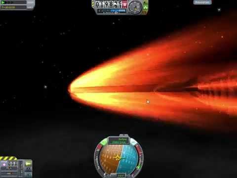 Kerbal Space Program ZEUS kinetic rod strike