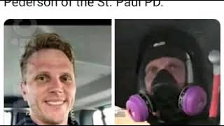 Jacob Pederson, St. Paul PD - The COP that allegedly started the looting at AutoZone