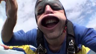 Tandemsprung von Daniel bei skydive nuggets in Leutkirch