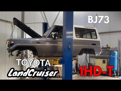 Land Cruiser BJ73 - 1HD-T conversion. Part 2.