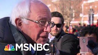 Bernie Sanders Raises $3.3 Million Hours After 2020 Announcement | Hardball | MSNBC
