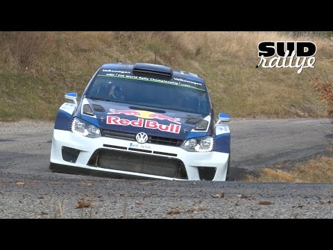 Test Rallye Monte Carlo 2016 - Jari-Matti Latvala (Polo WRC) (HD)