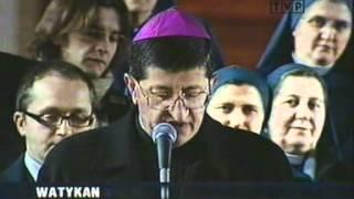 Ojciec Święty Jan Paweł II nie żyje