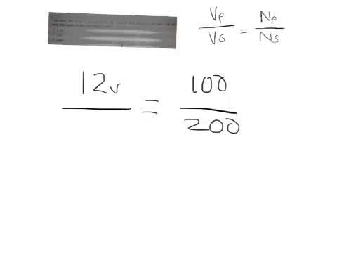 Calculating turns and voltage of transformers