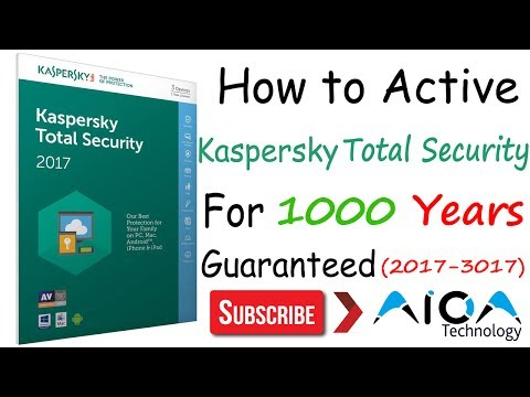 How to activate Kaspersky Total Security for Lifetime Crack Download 100% Proof