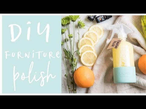 DIY Furniture Polish-Using Essential Oils