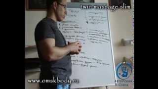 Антицеллюлитный массаж курсы обучение О приемах Система ТВИН Токмаков