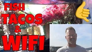 Travel Vlog 2019 | Town Restaurant Visit For WIFI Baja M.X.