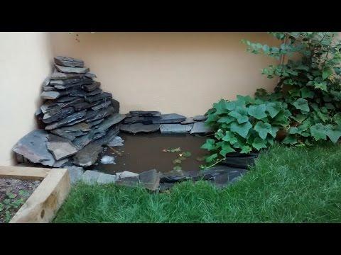 Estanque con cascada casera doovi for Estanque prefabricado barato