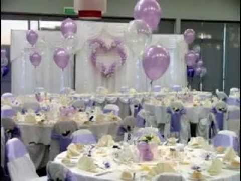 Easy Wedding balloons decorations - YouTube