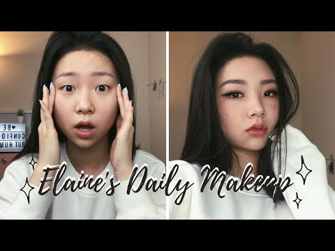 MONOLID MAKEUP TUTORIAL | DAILY LOOK - YouTube
