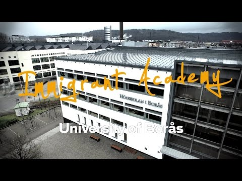 Immigrant Academy - Widening access at the University of Borås, Sweden