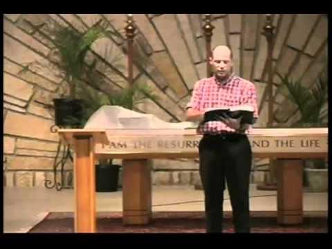 Message August 14, 2011 Pastor TJ