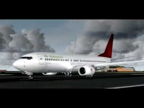 P3D 3.1 | Air Madagascar Boeing 737-800 ✈ Mayotte [FMCZ]✈ Ivato [FMMI]