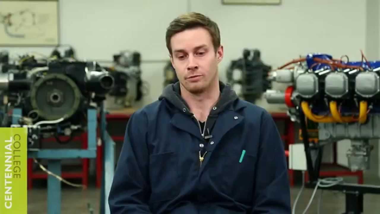 centennial college aircraft technician aircraft maintenance program youtube