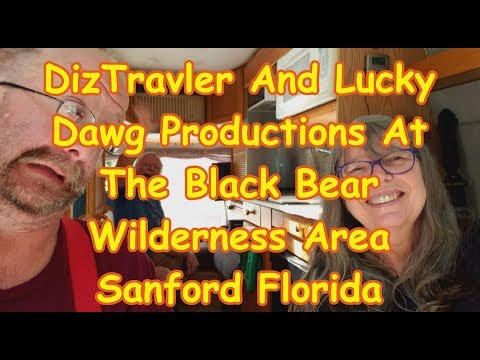 DizTravler And Lucky Dawg Productions At The Black Bear Wilderness Area Sanford Florida