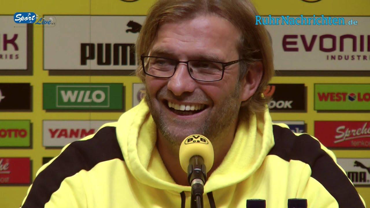 BVB Pressekonferenz vom 15. September 2012 nach dem Spiel Borussia Dortmund gegen Bayer 04 Leverkusen