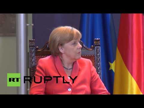Serbia: Merkel pledges support to Balkan nations regarding migrant crisis