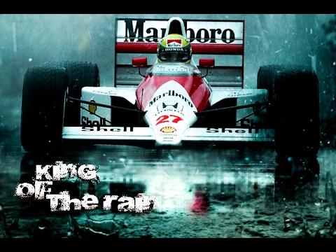 Ayrton Senna King Of The Rain Donington 1993