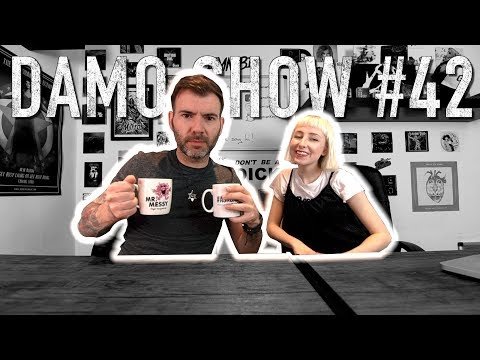 DAMO SHOW #42 - HAVING SEVERAL CAREERS / GROW YOUR INSTAGRAM / CHANGING BAND NAME / PR-PRESS