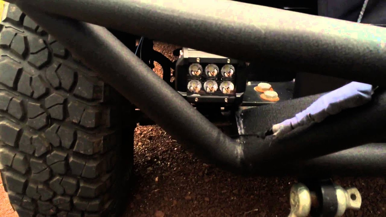 hight resolution of replacing jeep tj fog lights factory wiring youtube jeep tj fog light wiring