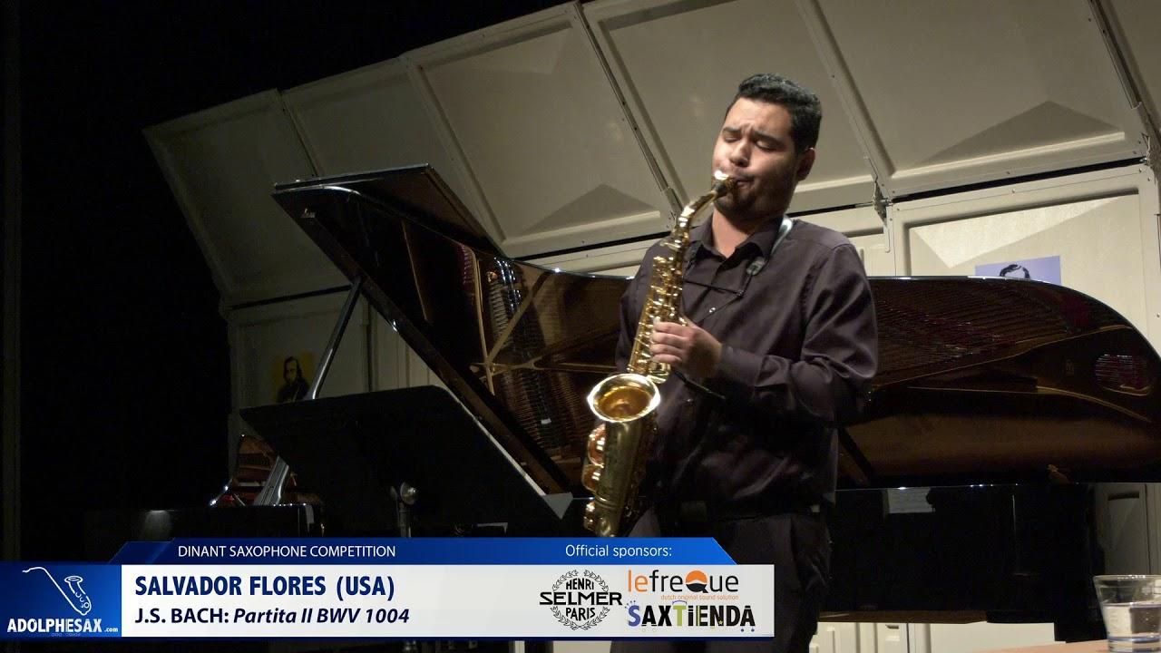 Salvador Flores (USA) - Partita II by J.S.Bach (Dinant 2019)