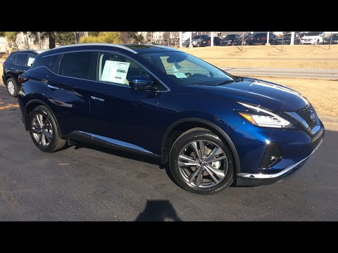 2019 Platinum AWD Murano (SEE DESCRIPTION) Deep Blue Pearl