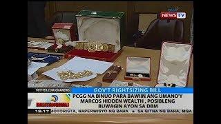 PCGG na binuo para bawiin ang umano'y Marcos hidden wealth, posibleng buwagin ayon sa DBM