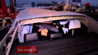Samsun'da trafik kazası: 1 ölü, 2…