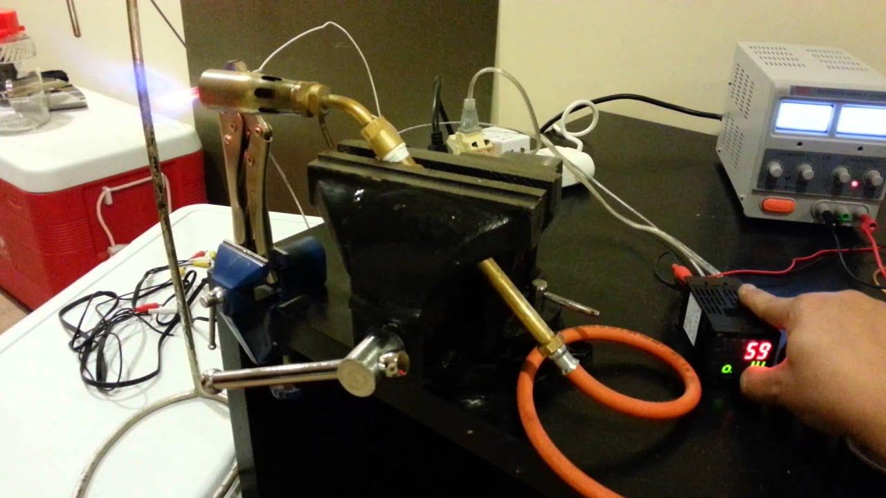 proportional gas valve test for pid 39 es roasting youtube. Black Bedroom Furniture Sets. Home Design Ideas