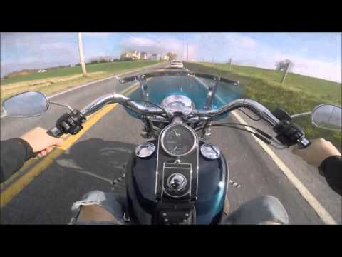 2001 Harley Davidson Heritage Softail test drive review
