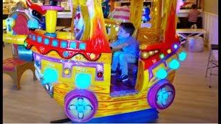 Ride on the Big Ship Kids Fun Play Area