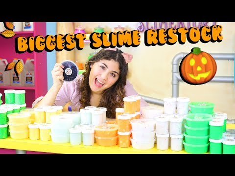 FRIDAY THE 13TH SLIME RESTOCK   SPOOKY HALLOWEEN EDITION ETSY SLIME RESTOCK