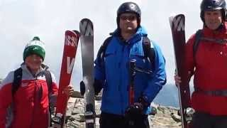 Summer Skiing Mount Washington Snow Fields 06/06/2015