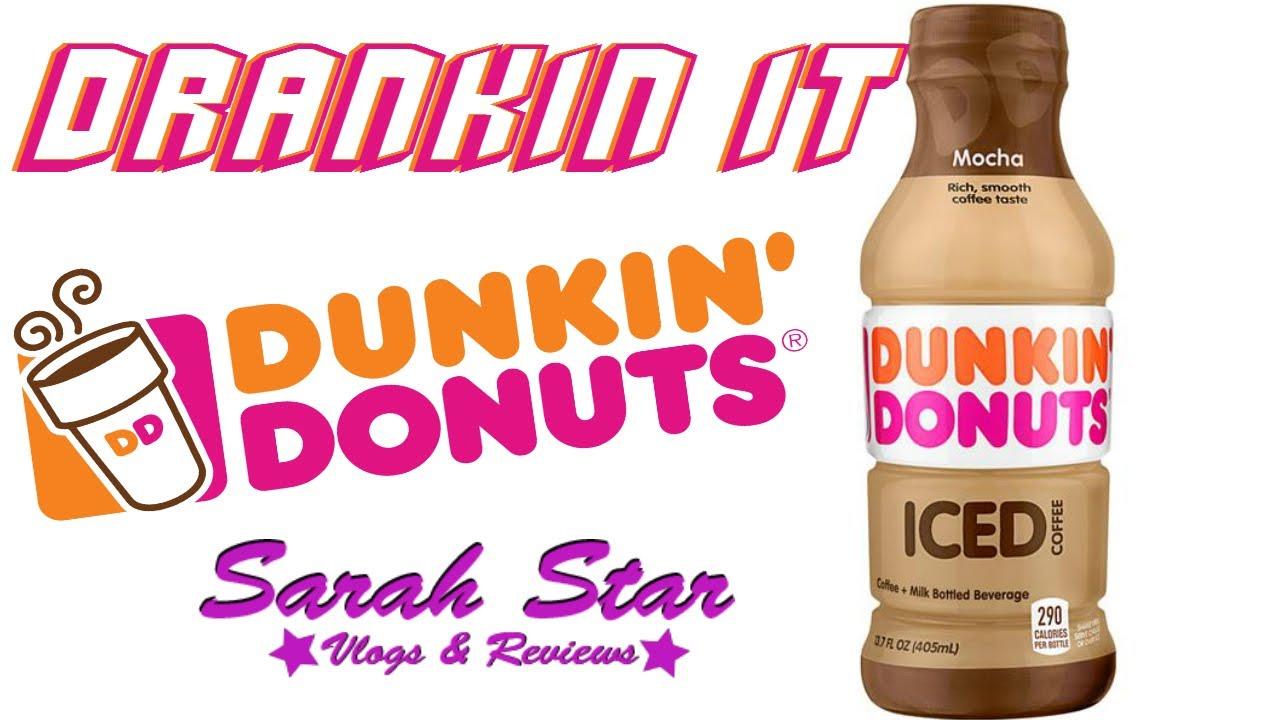 Dunkin Donuts Iced Coffee Mocha