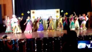 kv uoh 3rd annual day bathukamma dance