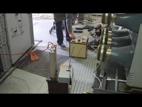 Испытания кабеля из сшитого полиэтилена ч2