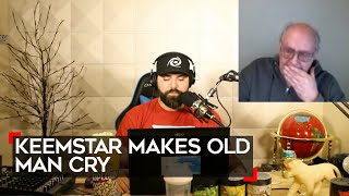 full keemstar makes 62 year old man cry   youtube info