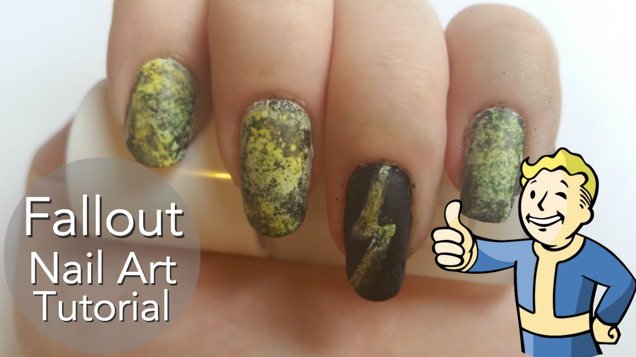 Fallout Nail Art Tutorial - YouTube