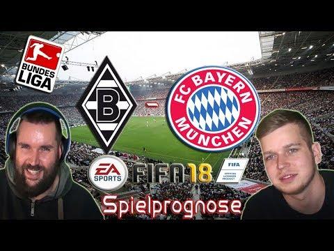 Borussia M´gladbach - FC Bayern München  - Spielprognose 25.11.17 - [1. LIGA] [FIFA 18] [Facecam]