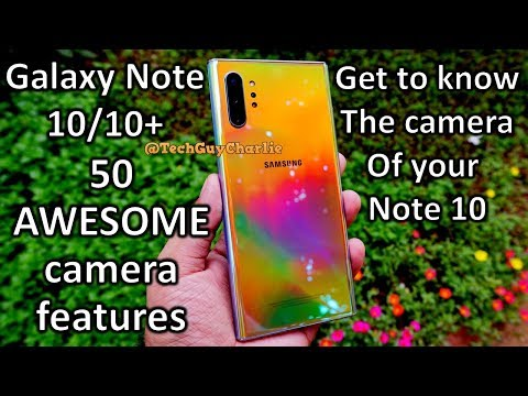 50 AWESOME Note 10/10+ Camera Features And Tips And Tricks You MUST Know