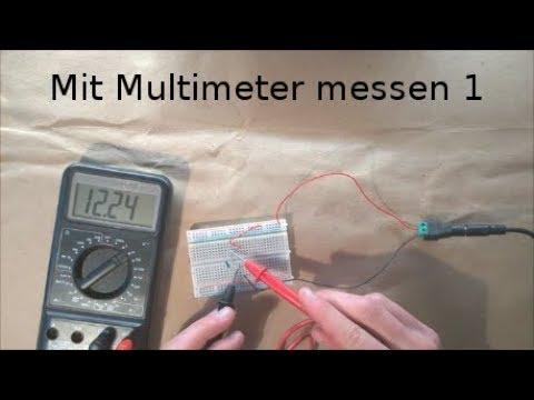 Grundlagen 4 - Spannung und Widerstand messen
