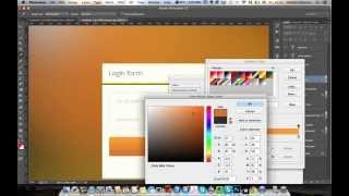 WDI PS.Элементы интерфейса - Урок 07. Создаем форму в стиле реализм.
