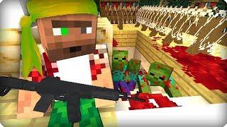 Дикий выживший мужик [ЧАСТЬ 5] Зомби апокалипсис в майнкрафт! - (Minecraft - Сериал)