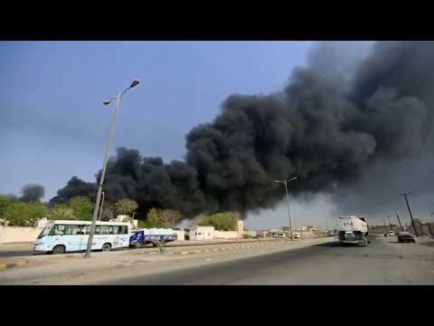Major fire at Yemen's Hodeidah port destroys aid supplies