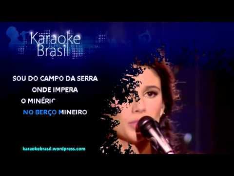 Paula Fernandes   Seio de Minas karaoke)