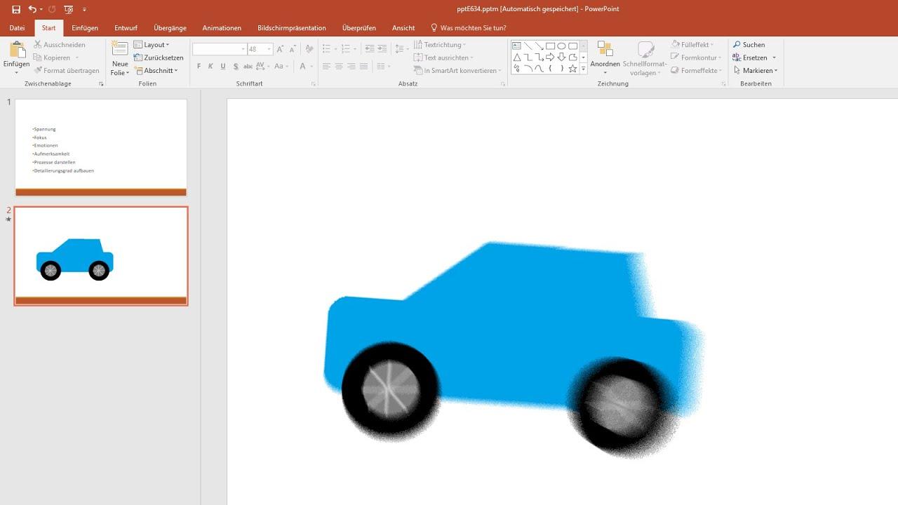 PowerPoint Animation und Übergänge erstellen [Tutorial 2016, Effekte ...