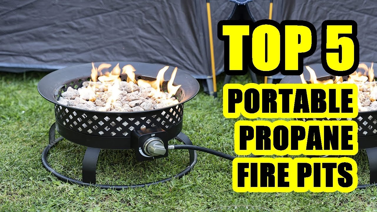 Top 5 Best Outdoor Portable Propane Fire Pit 2020 Ideal For Camping Or At Home Youtube