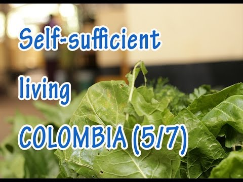 Self sufficient living farmers of Subachoque, Bogotá, Colombia: pt 5/7 - ecotourism