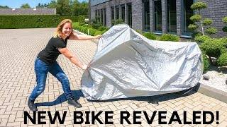 I bought a new motorcycle!